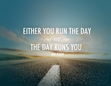 run or be run