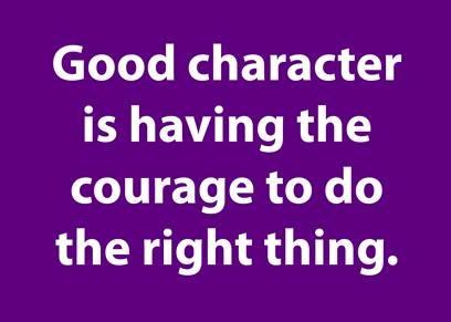 character over instinct blog